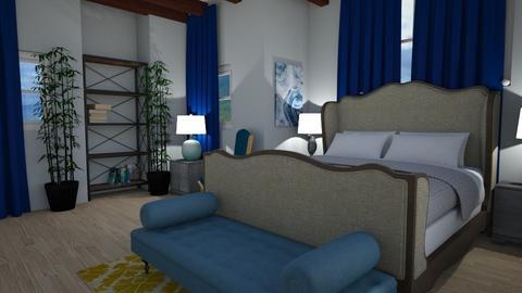 Happy Blue - Bedroom - by XqveenXlove