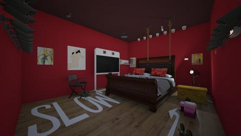 FUUUUN Room - Eclectic - Bedroom  - by Februartzisor