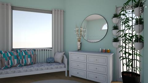 blue - Modern - Bedroom  - by lackcailey