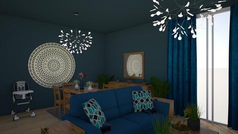 Blue house - Modern - by melanie99