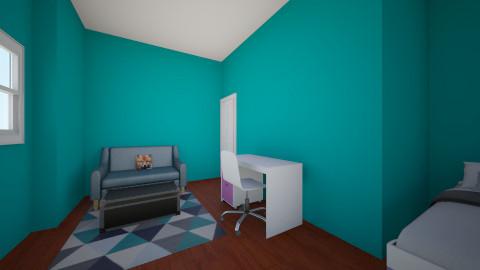 Rams room - Retro - Bedroom  - by myfereck