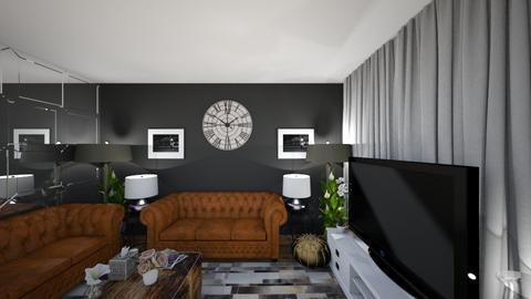 after 5 years LRM 1BB7 - Living room - by zainab alkaram