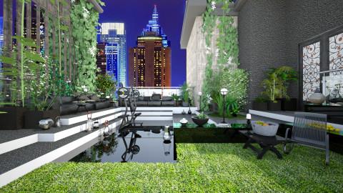 Oasis in NY - Modern - Garden  - by Ida Dzanovic