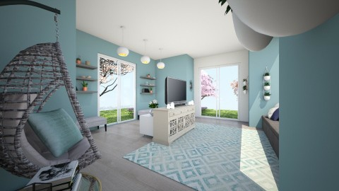 new - Living room - by IssaH