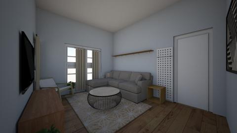Emily Kopsick - Living room  - by lhildner