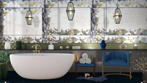 M_Emerald - Bathroom  - by milyca8