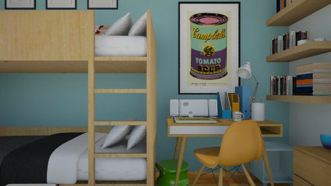 Tween Contest - Kids room  - by lauren_murphy