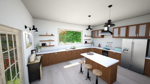 Open Kitchen - Kitchen  - by Chanel_Lover