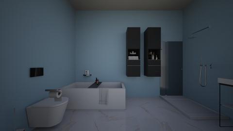 Big Bathroom - Modern - Bathroom  - by Agamanta