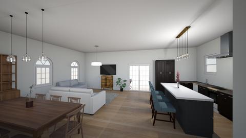 Kibb 1 - Living room  - by Niva T