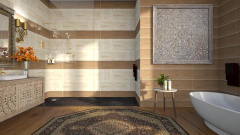 484 - Eclectic - Bathroom  - by Claudia Correia