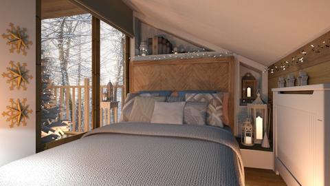 Hideaway - Bedroom - by Brenda DeVries