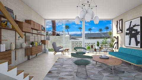 Palm Springs modernism - Modern - Living room - by kitty
