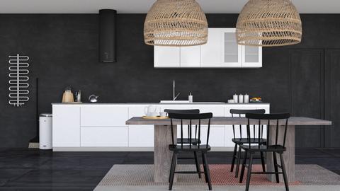 Noir Moderne - Modern - Dining room - by HenkRetro1960