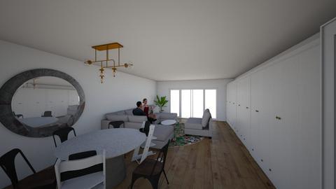 Woonkamer v2 - Living room  - by Chandraliu