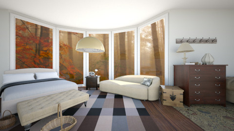 fall suite - Country - Bedroom  - by Georgina Holly