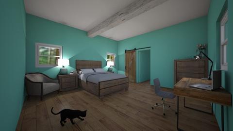 Beachy Bedroom - Bedroom - by mermaid girl2004