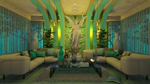 Living - Living room - by HebaAdil10