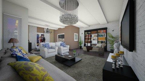 Confortable - Eclectic - Living room  - by DeborahArmelin