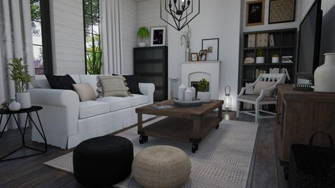 Something ordinary - Living room - by Tuija