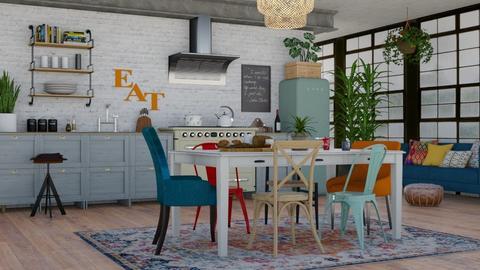 Bohemian Kitchen 2 - Kitchen  - by lovedsign