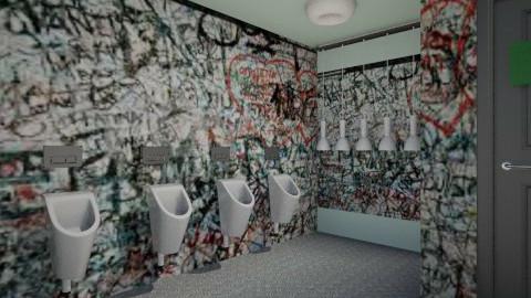 public bathroom - Bathroom - by claireathena