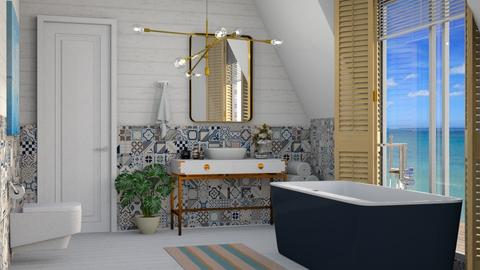 Nautical Bath - Bathroom - by JennieT8623