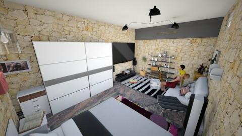 Bedroom 1 - Minimal - Bedroom  - by Iman Veldhuijzen