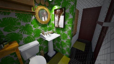7736 BATHROOM 1 2_0 - Eclectic - Bathroom  - by KCarrington27