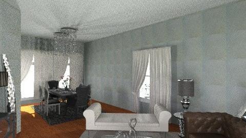 Annette LiveDineGlam1 - Glamour - Living room - by pdsmatt