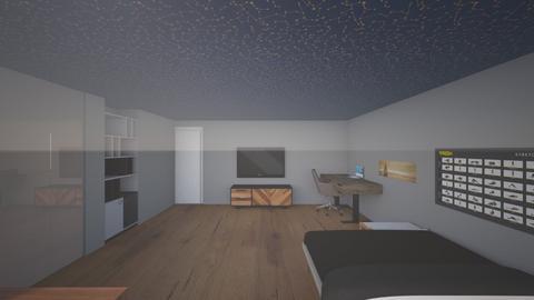 JT - Modern - Bedroom  - by JK57