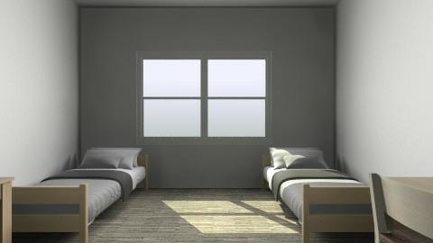 Dorm Room - Minimal - by Jay Wicked