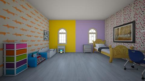 Camech and Crystals desig - Kids room  - by Fashion P
