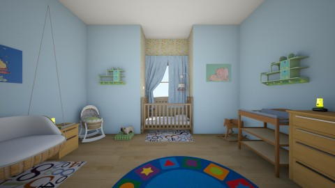 Gender Neutral Nursery - Minimal - Kids room  - by Jessica Whittaker