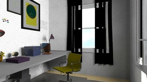working rooms last3 - Vintage - Office  - by bellabravis