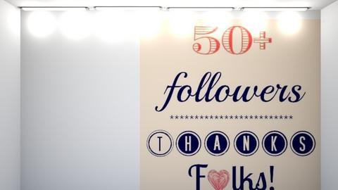 50 followers thx so much - by FANGIRLdesigner