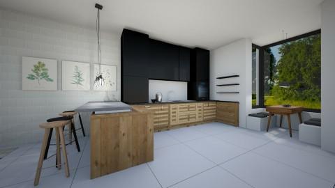KITCHEN MODERN - Modern - Kitchen  - by naominaomi