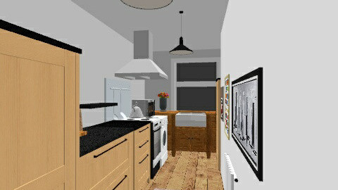 Froghall Kitchen - Country - Kitchen  - by azramo