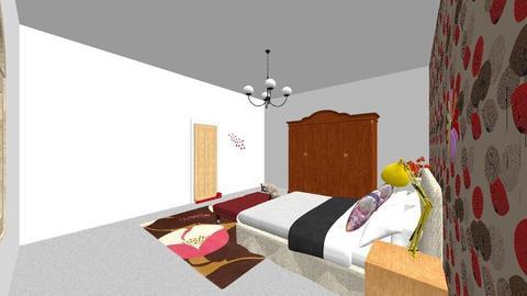 Poppy Room - Bedroom  - by TheRabbitLover908