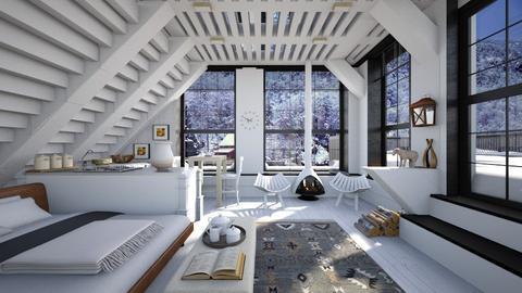 house the shepherd - Rustic - Living room  - by Leyvna