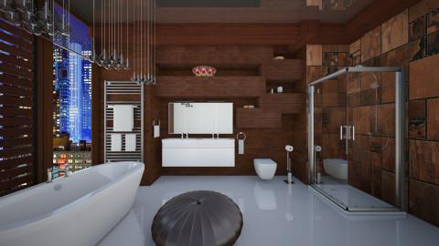Virtual in NYC - Bathroom  - by Ida Dzanovic