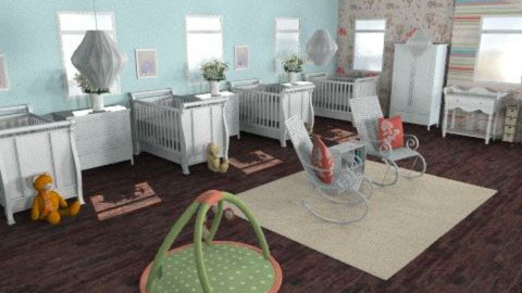Four in One - Classic - Kids room  - by HSSmith