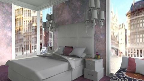 Purple Haze - Glamour - Bedroom  - by amandafern