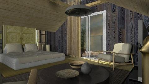 zen1 - Minimal - Bedroom - by chania