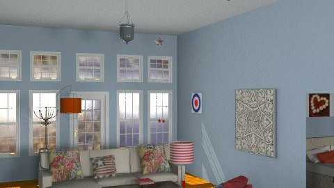 A Texas beach house - Country - Living room  - by alleypea