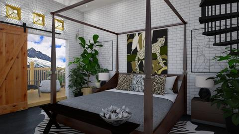 Jungle Dreams - Bedroom  - by timeandplace
