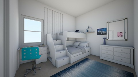 simple dorm room - Bedroom - by Cora_da_B0ss