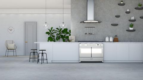 Minimal Kitchen - Minimal - Kitchen  - by lovedsign