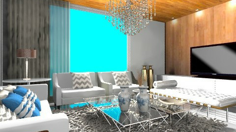 R - Modern - Living room - by dudous
