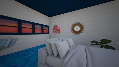 Modern Greek Bedroom - Modern - Bedroom  - by hannahelise